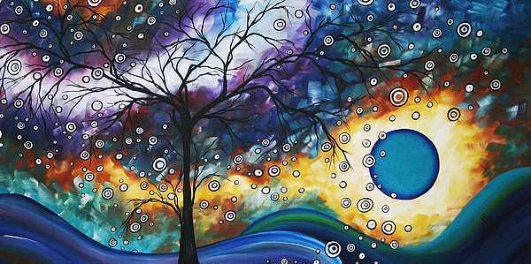 Wall Painting - Love And Laughter By Madart by Megan Duncanson