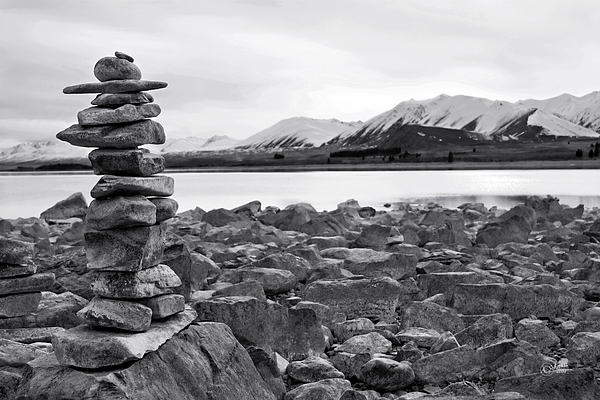 Rock Photograph - Love Anonymous by Andrea Cadwallader