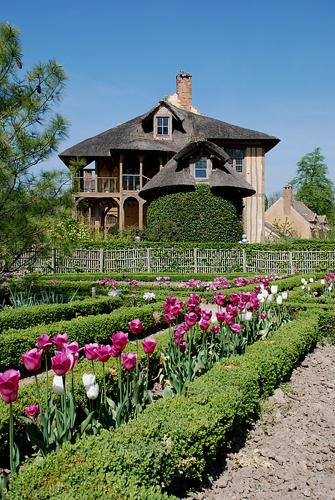 Cottage Photograph - Lovely Garden And Cottage by Jennifer Ancker
