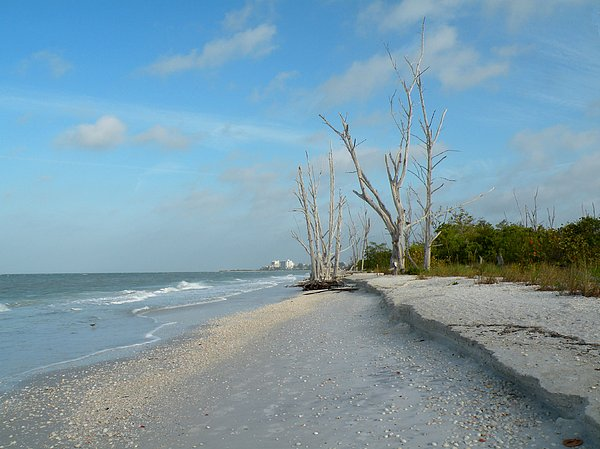 Beach Photograph - Lovers Key Beach by Rosalie Scanlon