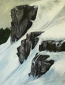 Lovers Leap Painting by Pete  Miller