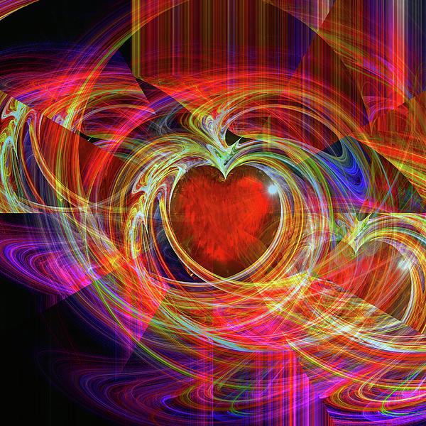 Digital Digital Art - Loves Joy by Michael Durst