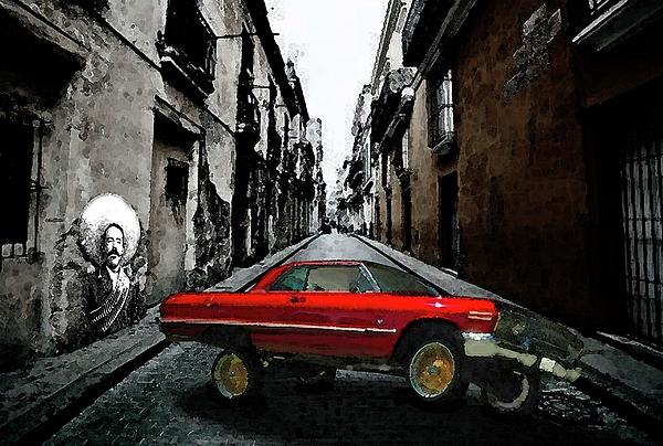 Lowrider Digital Art - Low Rider by Monday Beam