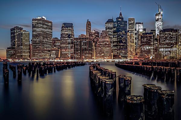 America Photograph - Lower Manhattan Skyline by Eduard Moldoveanu