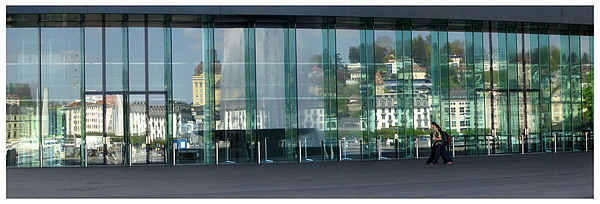 Switzerland Photograph - Lucerne Art Museum by Daniel Kazor