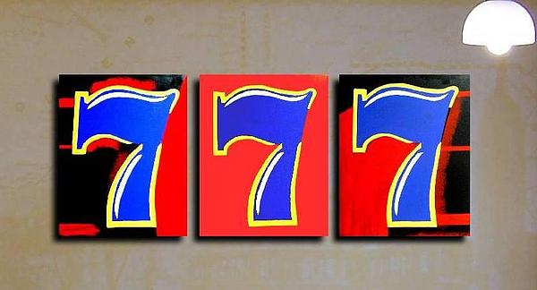 Lucky Sevens Painting by Teo Alfonso