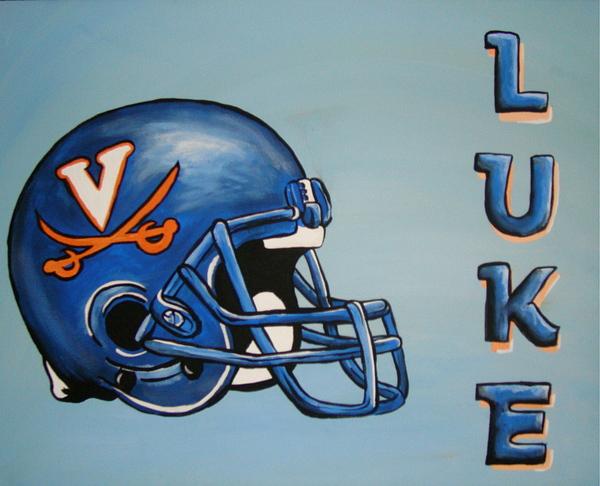Luke Painting - Luke by Dani Marie