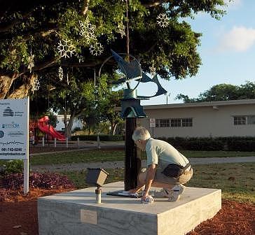 Sculpture Sculpture - Luna Tuna by Richard W Beau Lieu