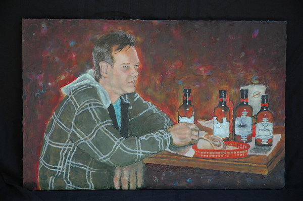 Figurative Painting Painting - Lunch Hour by Melissa Jones