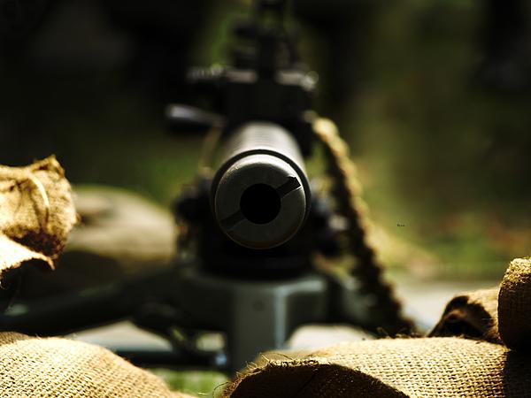 World War 2 Photograph - M1919 Browning Machine Gun by Steven  Digman