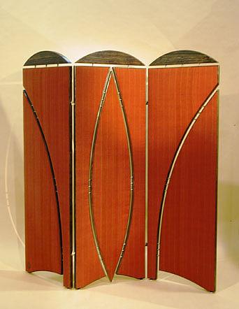 Wood Sculpture - Maasai Screen by Dan Reiple
