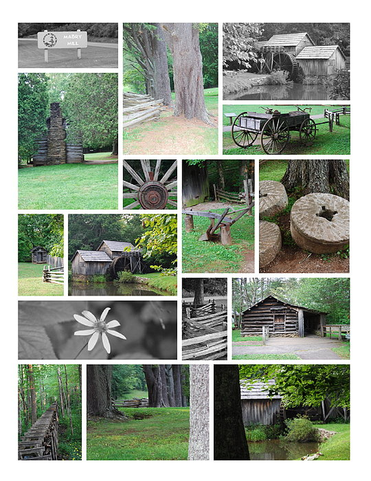Water Photograph - Mabry Mill by Eric Liller
