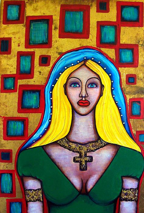 Madonna Painting - Madonna-putana by Brenda Higginson