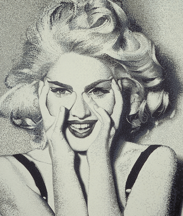 Madonna Painting - Madonna by Randy Ford
