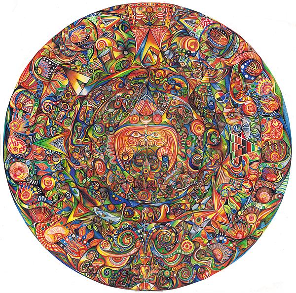 Maya Drawing - Maeyea by Jonathan DiNo DiNapoli