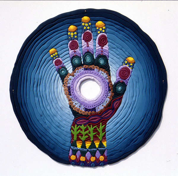 Mandala Relief - Magic Hand by Arla Patch