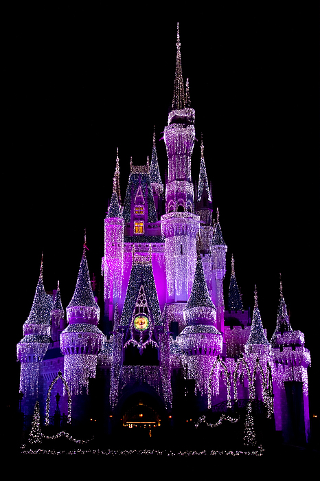 Castle Photograph - Magical by Kevin Brett