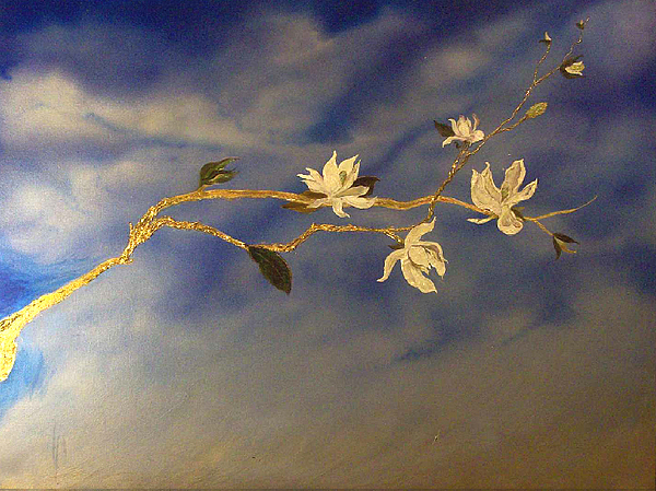 Magnolia Painting by Jace Miley