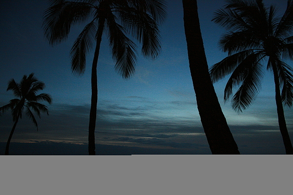Hawaii Photograph - Maili Beach After Sunset by Jennifer Bright