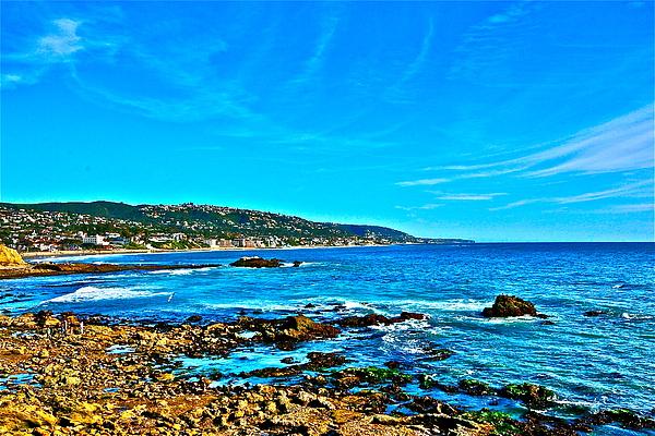 Laguna Beach Photograph - Main Beach Laguna by Jeremy Stewart