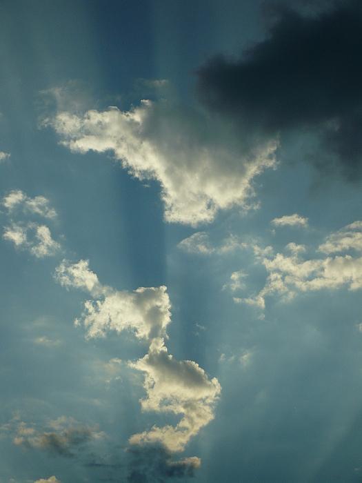 Sky Photograph - Majestic Blue by Stephen Davis