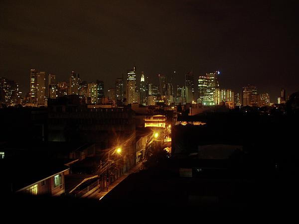 Skyline Photograph - Makati Skycraper by SAIGON De Manila