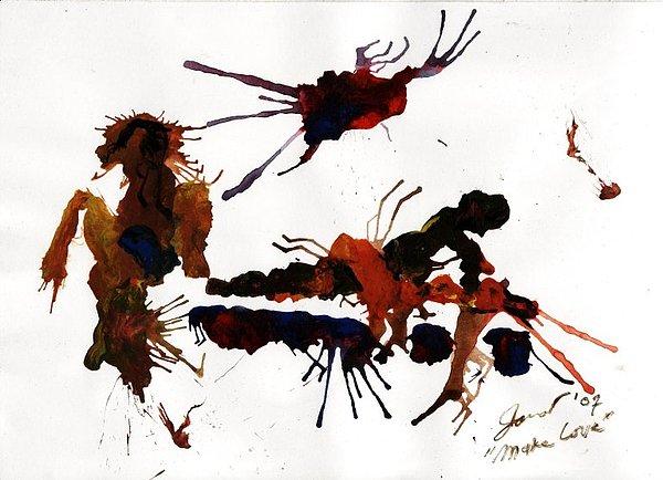 Make Love Painting - Make Love by Danarta Gondrong