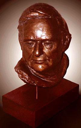Male Bust Sculpture by Ole Nielson