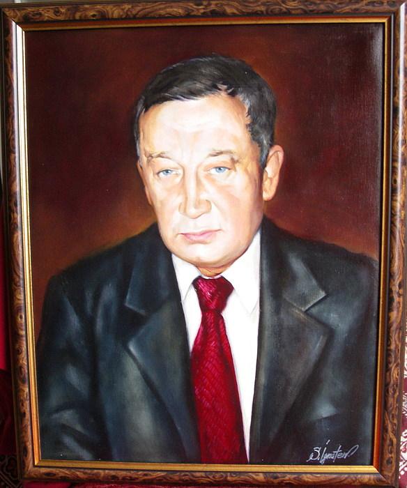 Oil Painting - Man 1 by Sergey Ignatenko