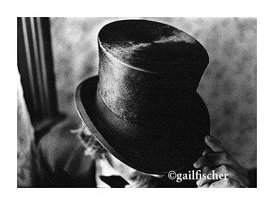 Man Photograph - Man In The Black Top Hat by Gail Fischer