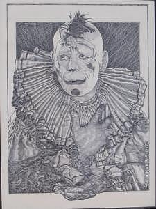 Lon Chaney Drawing - Man Of A Thousand Faces by James Boehmer