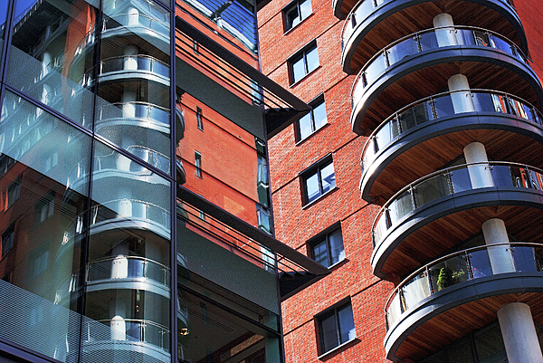 Architecture Photograph - Manchester - Spinningfields  by Hristo Hristov