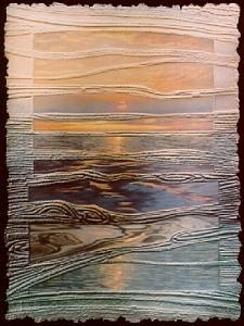 Landscape Painting - Mandalay Sunset by Tomchuk