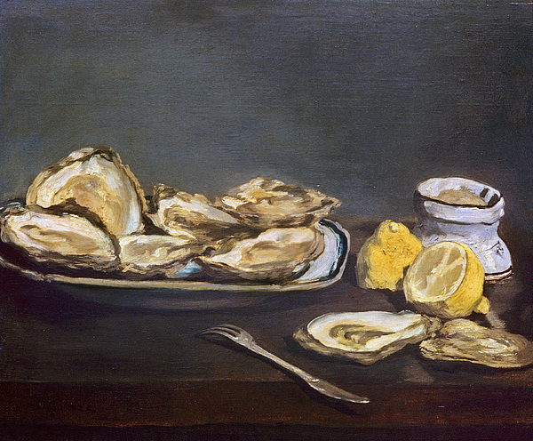 1862 Photograph - Manet: Oysters, 1862 by Granger