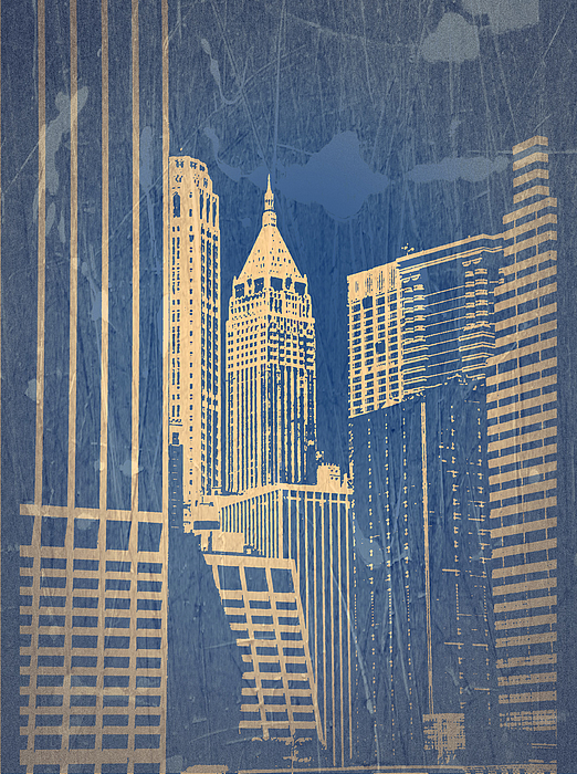 Chrysler Building Photograph - Manhattan 1 by Naxart Studio