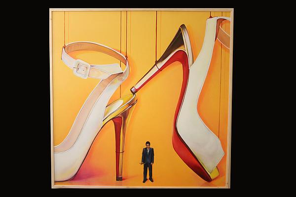 Shoes Painting - Manipulation by Aisha Gul