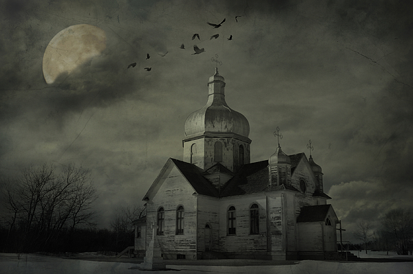 Church Photograph - Mannerisms Of Midnight  by Jerry Cordeiro
