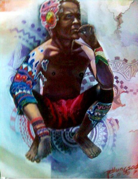 Manobo Painting by Jeffrey Duhaylungsod
