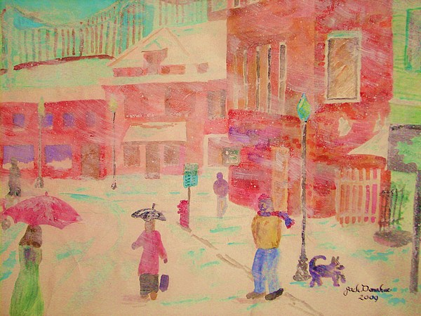 Long Island Painting - Maplewood by Jack Donahue