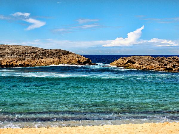 Hdr Digital Art Photography Photograph - Mar Chiquita North Coast Puerto Rico by Frank Feliciano