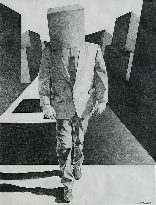 Drawing Drawing - March Of Adaptation by Ryan Babcock