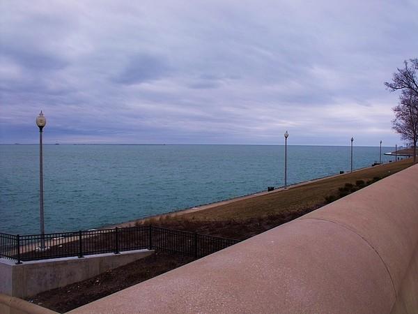 Chicago Photograph - March On Lake Michigan by Anna Villarreal Garbis