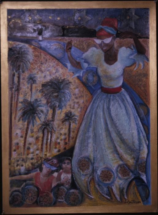 Haiti Painting - Mardi Gras Megillah by Barbara Nesin