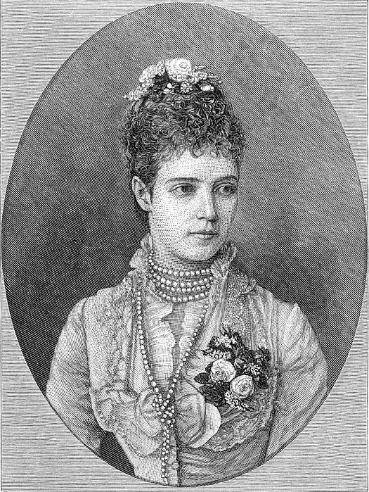 19th Century Photograph - Maria Fyodorovna by Granger