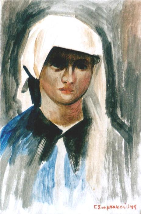Maria Painting by George Siaba