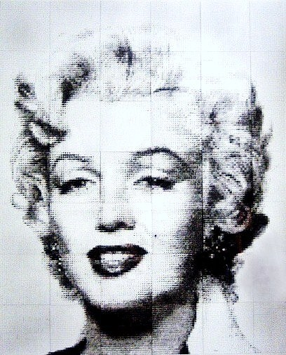 Marilyn Monroe Drawing - Marilyn by Bill Rose