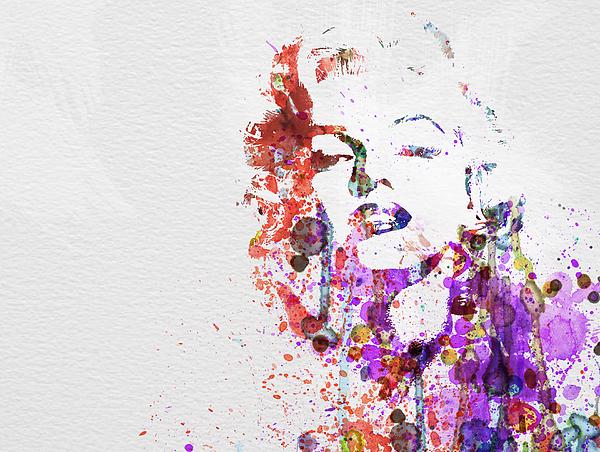 Marilyn Monroe Painting - Marilyn Monroe by Naxart Studio
