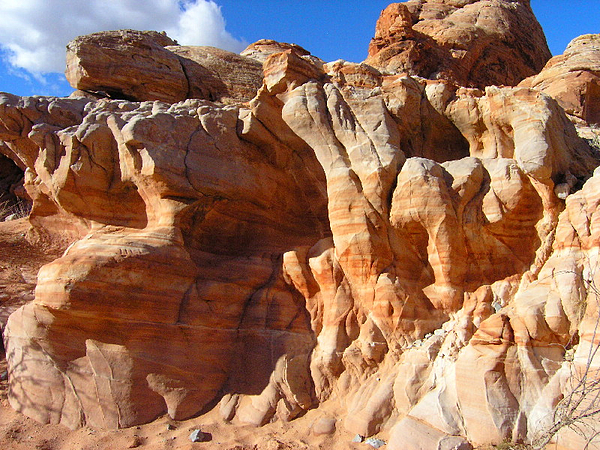 Nature Photograph - Martian Cliffs by Silvie Kendall
