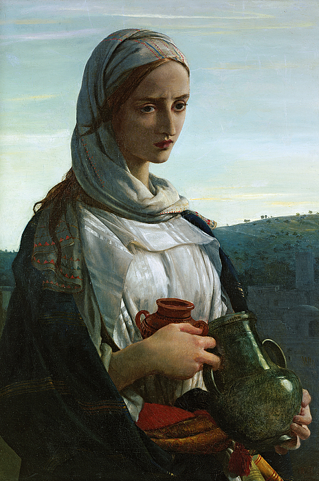 Christianity Painting - Mary Madgalen by JR Herbert