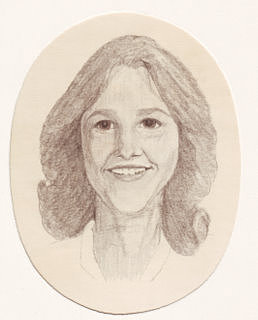 Portrait Drawing - Maryann by Connie Morrison